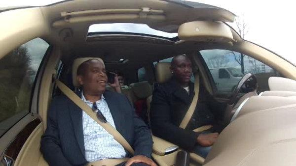 Ducis Rogers' ride along with Ryan Howard