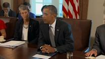Obama says he is shifting from Syria focus to domestic priorities