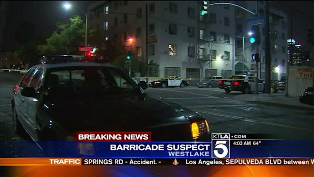 Armed Woman Barricaded Inside Apartment in Westlake