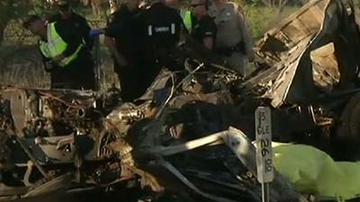 Northern California Bus Crash Kills at Least 9