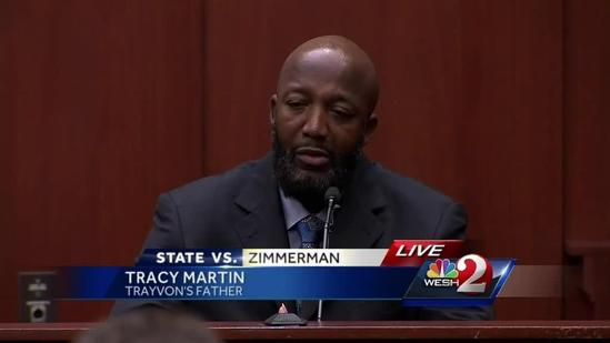 Video: Tracy Martin testifies about voice on 911 call