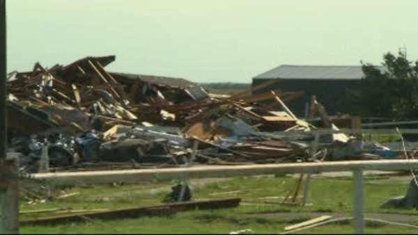 Oklahoma residents digging through rubble after tornadoes hit again