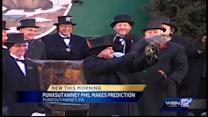 Kidd visits the Milwaukee Co. Zoo on Groundhog Day