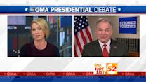 'GMA' Hot List: Tim Kaine Talks Donald Trump's 'Shocking' Debate Comments