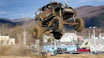 Mud, Sweat And Gears: Monster Truck Drivers Hit The Dirt Track