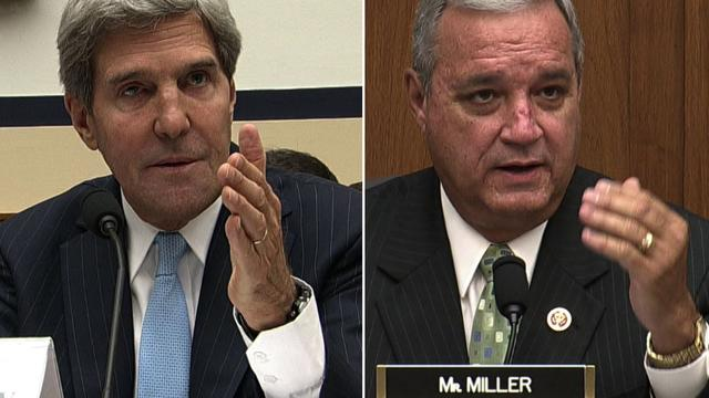 GOP Rep. challenges Kerry on Syria: