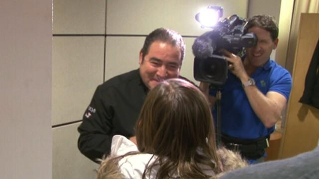 Emeril Helps Grant Wish of Recovering Girl