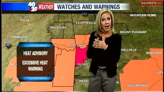 Laura's Friday weather webcast, Sep. 7.