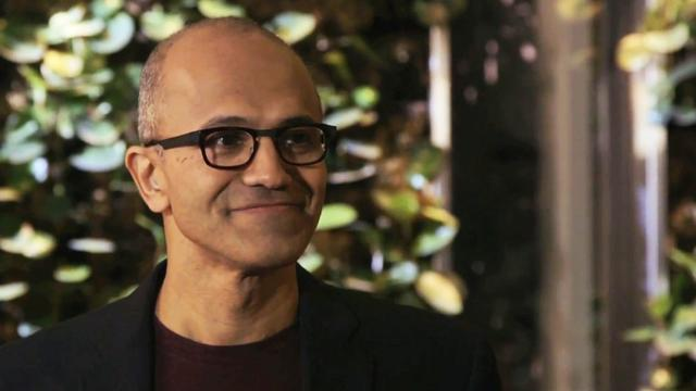 Microsoft looks forward with new CEO