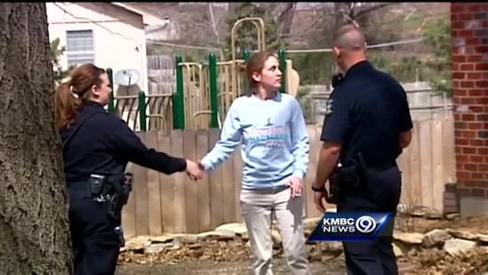 Overland Park officers on community policing beat
