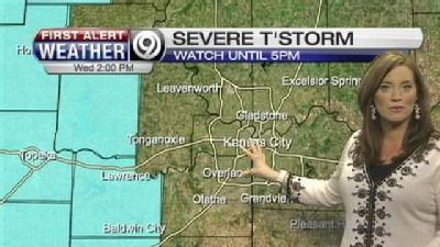 Parts Of Viewing Area Under Severe Thunderstorm Watch