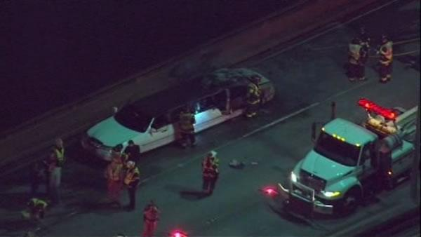 Victims identified in limo fire on San Mateo bridge