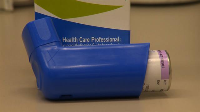 Mixing asthma medication may reduce fequency of attacks