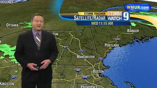 More showers, storms possible this afternoon, evening