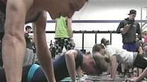 Gym Raises Money For Wounded Warriors