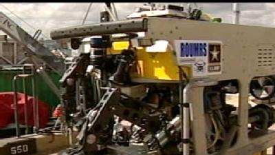 New Military Robots To Clean Munition Off Leeward Coast