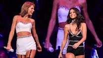 Selena Gomez & Taylor Swift Matching Outfits at 1989 Concert!
