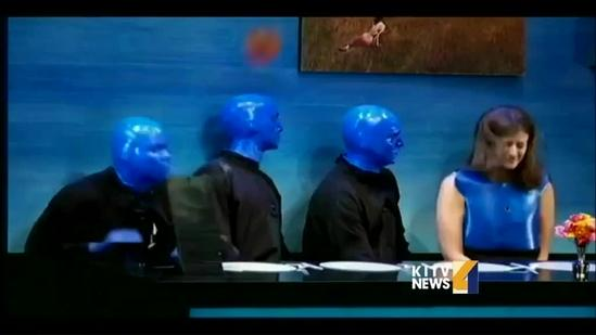 Wes Day from Blue Man Group sits down with KITV4