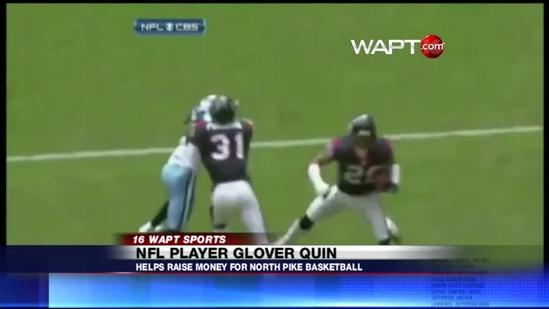 NFL Player and Mississippi native Glover Quin returns home