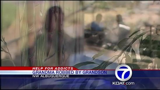 A Grandmother Robbed By Her Grandson