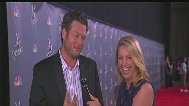 Blake Shelton on the Red Carpet