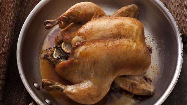 How to Make an Easy Whole Roasted Chicken