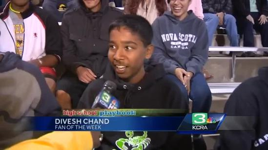Playoffs Week 1: KCRA 3 Fan of the Week