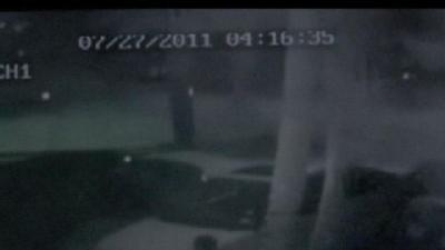 Tire Thieves Caught On Camera