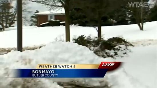Butler County hit hard by March snowstorm