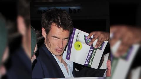 Andy Murray Gets Poked in the Face By Autograph Hunter After Night Out With Kim Sears