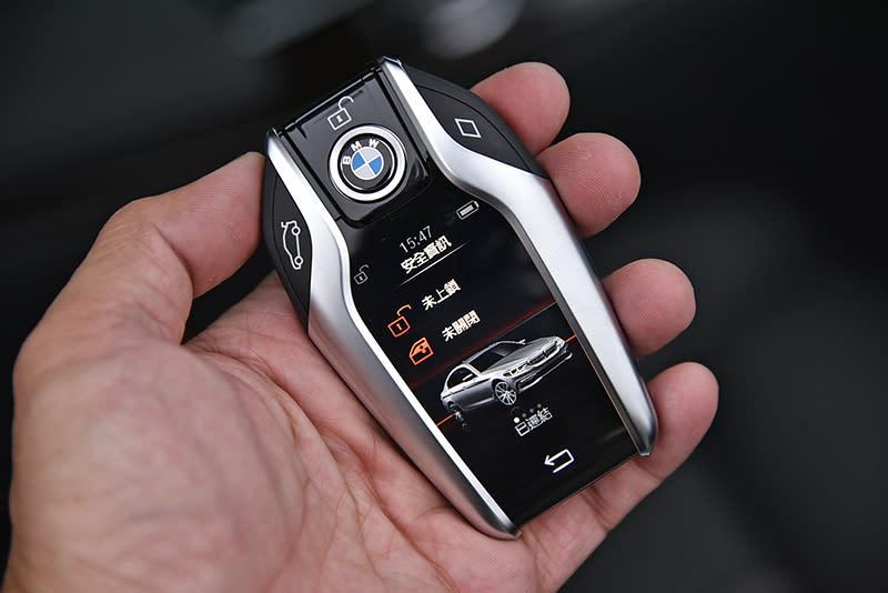 ▲智慧型鑰匙已經算是BMW的招牌了吧?