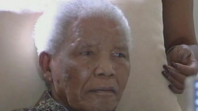 Nelson Mandela Reportedly in Intensive Care