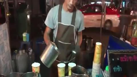 Preparing a Drink Like a Boss!