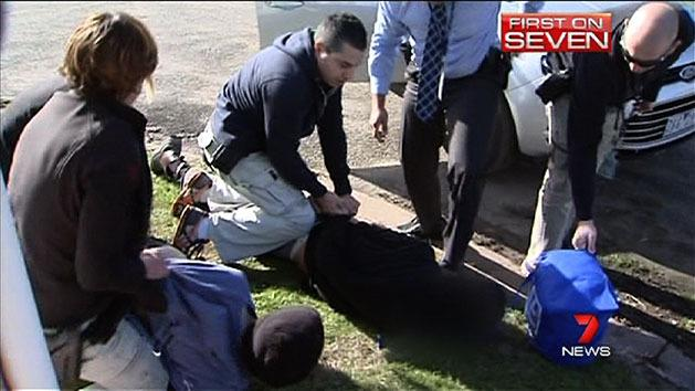 Dramatic arrest of sex offenders