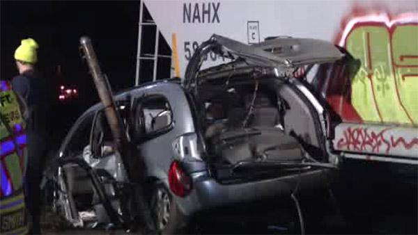 2 injured when car struck by train in Marcus Hook