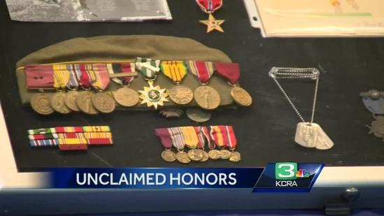 State attempts to reunite unclaimed property with veterans