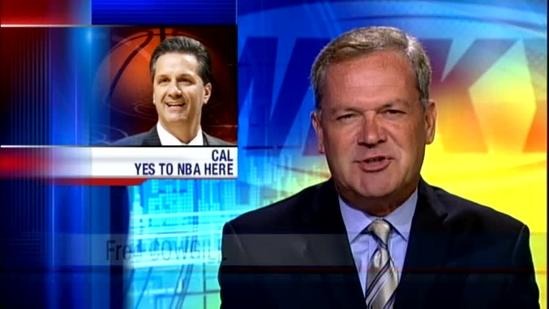 Coach Cal supports NBA in Louisville
