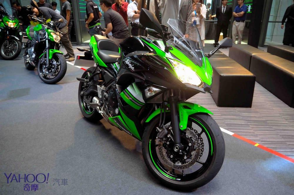 忍道入魂!Kawasaki川崎重機Z900 ABS、Ninja系列精銳盡出!