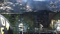 House in N. Houston destroyed by wind-fueled fire