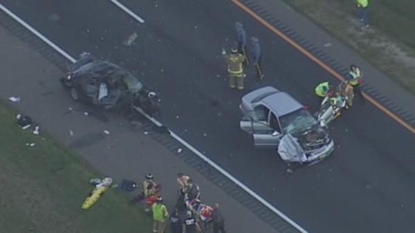 5 injured in serious crash on AC Expressway in Winslow Twp.