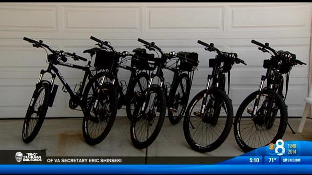 New patrol bikes donated to SDPD