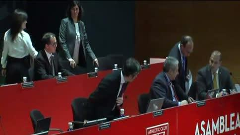Urrutia preside la Asamblea del Athletic
