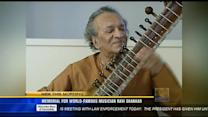 Memorial for world-famous musician Ravi Shankar