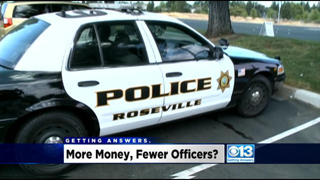 Roseville Allocating $1 Million More For Police, But 12 Fewer Positions