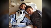 Boy, 13, Keeps Dad Alive for 2 Days After Boulder Accident