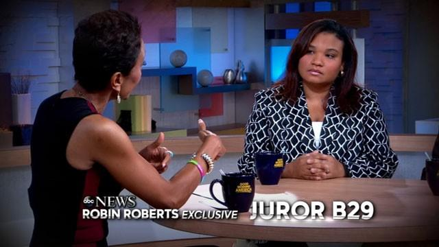 Zimmerman Juror Speaks Exclusively to ABC News