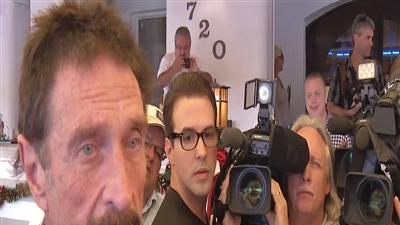 Raw: McAfee Speaks in Miami After Deportation