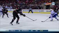 Eric Staal goes five-hole on Bishop