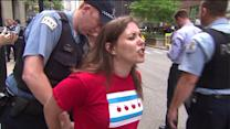 Arrests made at CPS closing protest