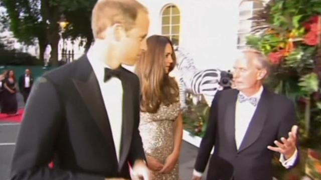 Duke and Duchess of Cambridge attend awards ceremony
